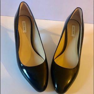 Cole Haan Black OS Heels Pumps size 7